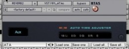 Auto Time Adjuster compensa la latencia de plugins en Pro Tools LE