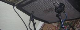 Uso de micrófonos: guitarra, bajo y voz