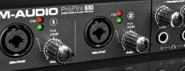 Nueva interfaz Firewire M-Audio ProFire 610