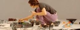 La experiencia física del sonido explorada por una artista sorda