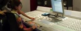 Sesión de grabación en directo desde SAE Institute