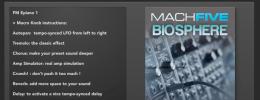 MachFive Biosphere, sonidos de sinte para UVI