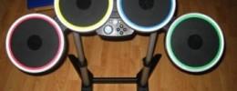 La batería Rock Band convertida en controlador MIDI