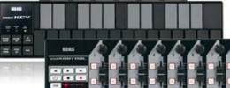 Nanocontroladores de Korg en color negro