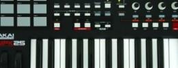 Nuevo teclado controlador AKAI MPK25 en el NAMM