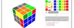 Un secuenciador MIDI con forma de cubo de Rubik