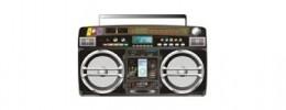 Ghettoblaster de 1985 con iPod