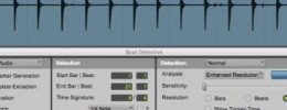 Creación de un mapa de tempo en Pro Tools con Beat Detective