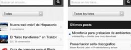 Nueva web móvil de Hispasonic