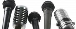 Características y uso de los micrófonos