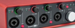 Nuevas interfaces Scarlett 18i8 y 6i6 de Focusrite
