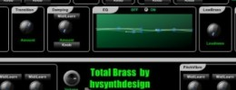 Nuevo sinte Total Brass de HV Synth Design