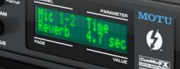 MOTU 828x, nueva interfaz Thunderbolt