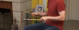 Aerodrums, tocar la batería sin batería
