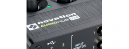 Audiohub 2x4 de Novation, interfaz y hub USB a la vez