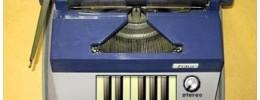 Instrumento de Knobster con sonidos de una máquina de escribir
