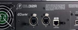 Llega la opción Dante para el mezclador Mackie DL32R