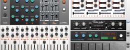Softube Heartbeat, un collage de varias cajas de ritmo