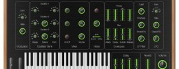 Viktor NV-1, sinte Web MIDI gratuito de código abierto