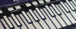 Future Retro presenta un controlador CV/MIDI de teclas metálicas