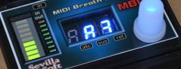 MBC1 MIDI Breath Controller: un soplo de vida