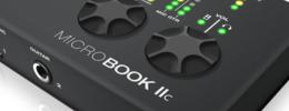 Motu lanza MicroBook II, una interfaz con soporte para iPad