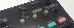 Korg Volca FM entrega 3 voces compatibles con DX7