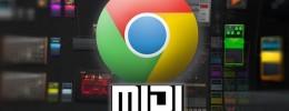 Las posibilidades del Web MIDI