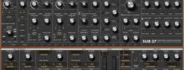 Moog Sub 37 ya tiene editor en plugin