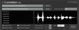 LS Levelator equilibra los niveles en locuciones y ofrece versión gratuita