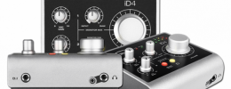 Audient lanza iD4, la más pequeña de sus interfaces con sonido de consola
