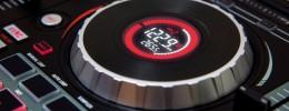 Numark Mixtrack Platinum añade pantallas LCD en los jogwheels
