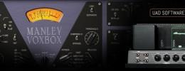 Más plugins UAD: canal de voces Manley VoxBox y ampli de bajo Ampeg B15N