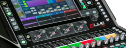 Allen & Heath dLive C Class, superficies compactas y MixRacks para mezcla en directo