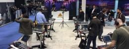 El stand de Behringer en el NAMM Show, repleto de DeepMind 12