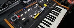 Controlando un Moog Prodigy con piezas de Lego