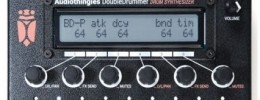 DoubleDrummer de Audiothingies, caja de ritmos retro con sinte y muestras