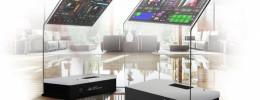 Un enorme controlador DJ táctil de cristal que nadie pasará por alto