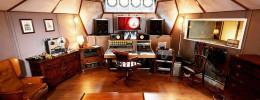 Un estudio de grabación en un barco