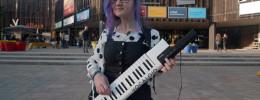 Yamaha Vocaloid VKB-100, un keytar que canta en japonés