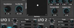 Vowel Filter, filtro de formantes en plugin VST y AU