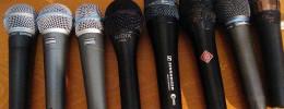 Comparativa de micros vocales de directo