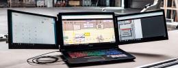 Slidenjoy convierte tu portátil en un sistema de producción a tres pantallas