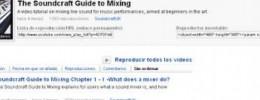 Soundcraft publica sus guías de mezcla en Yotube