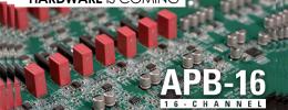 Hardware analógico programable APB-16, nueva propuesta de McDSP
