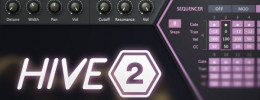 Hive 2, nueva versión del sinte de U-He pensado para uso rápido
