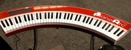 PianoArc, el teclado controlador circular del teclista de Lady Gaga