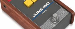 TC Electronic June-60 Chorus, el efecto del Roland Juno 60 clonado en un pedal stomp
