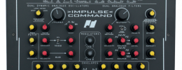 Impulse Command de Analogue Solutions, un sintetizador analógico monofónico estéreo