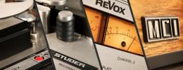 IK Multimedia modela cuatro máquinas de cinta en plugins
